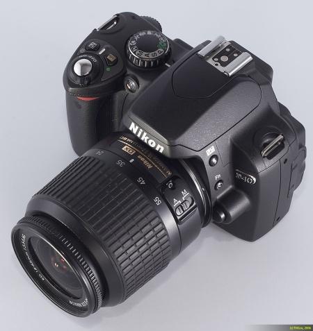 Nikon D40 (Front)
