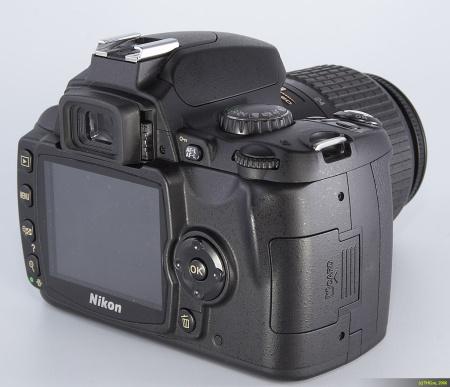 Nikon D40 (Back)