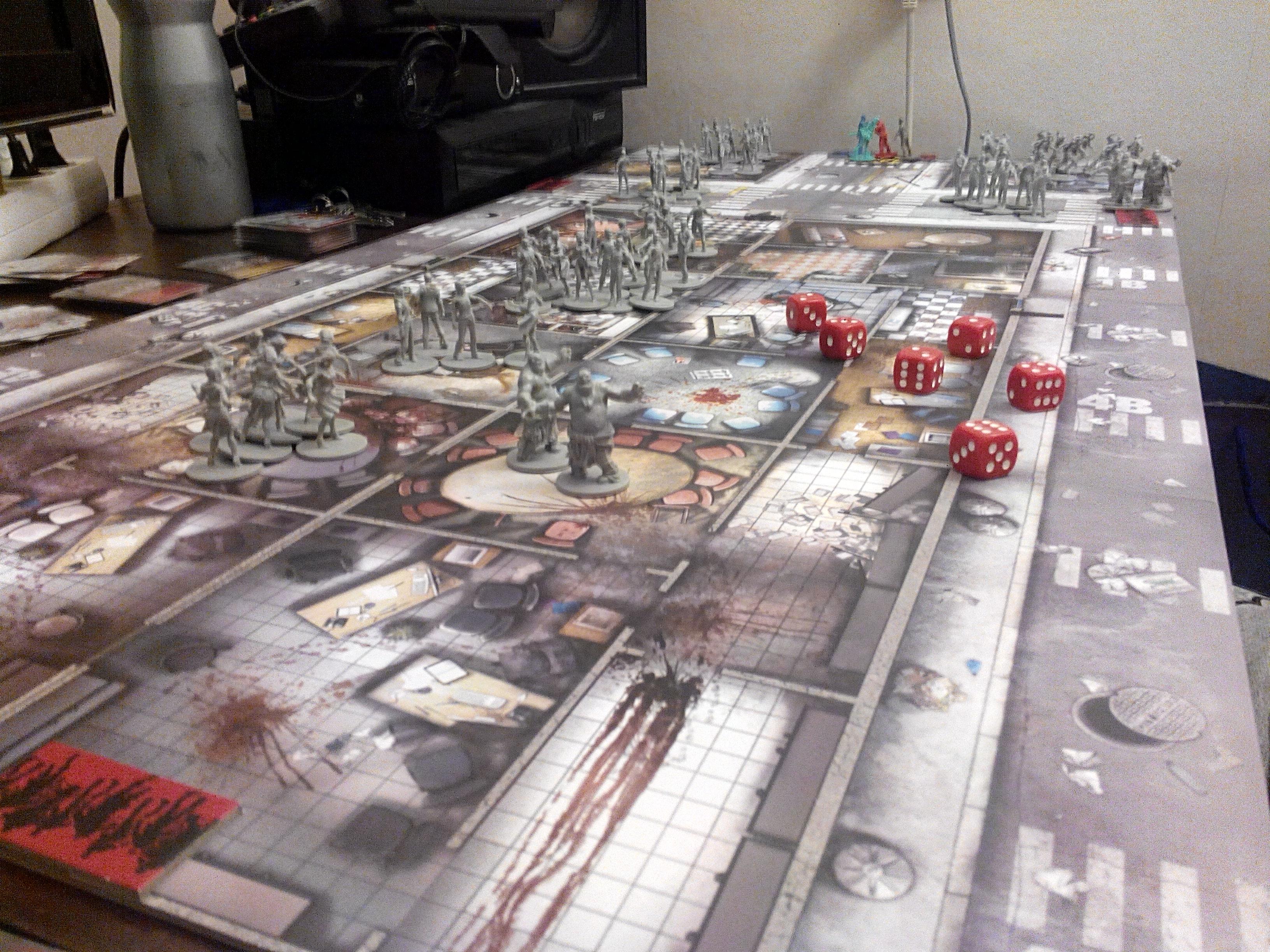 Свободные зомби закончились бы через 2-3 карты. А потом снова массовая активация и наверняка кранты